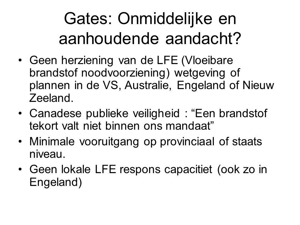 Gates: Onmiddelijke en aanhoudende aandacht.