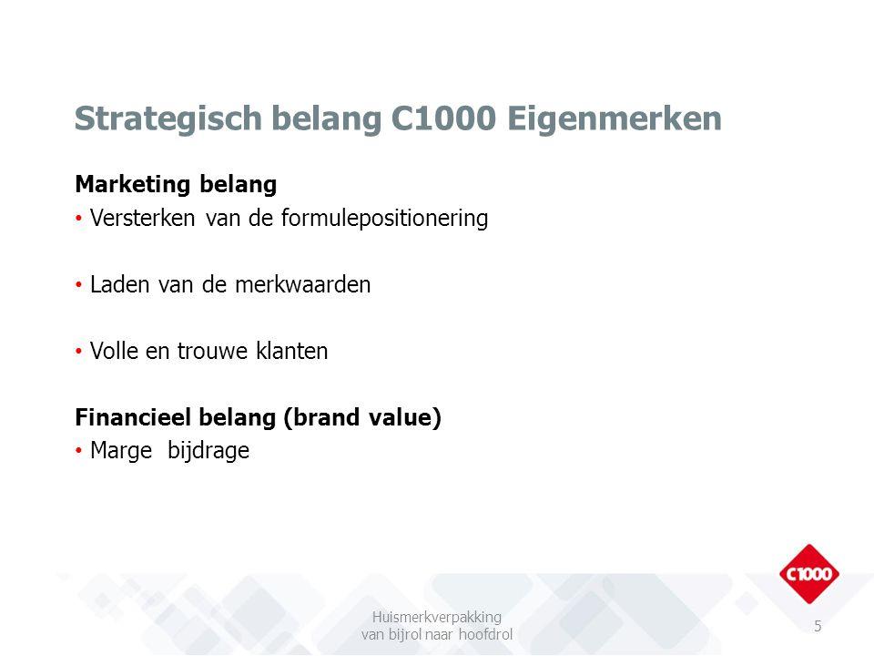 Marketing belang Versterken van de formulepositionering Laden van de merkwaarden Volle en trouwe klanten Financieel belang (brand value) Marge bijdrag
