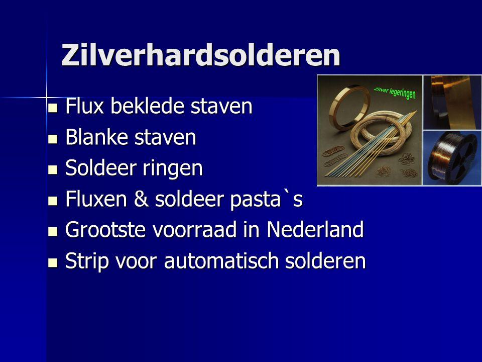 Zilverhardsolderen Flux beklede staven Flux beklede staven Blanke staven Blanke staven Soldeer ringen Soldeer ringen Fluxen & soldeer pasta`s Fluxen &