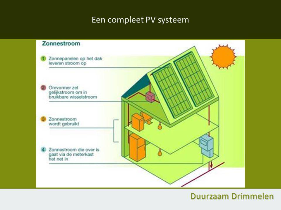 Een compleet PV systeem Duurzaam Drimmelen