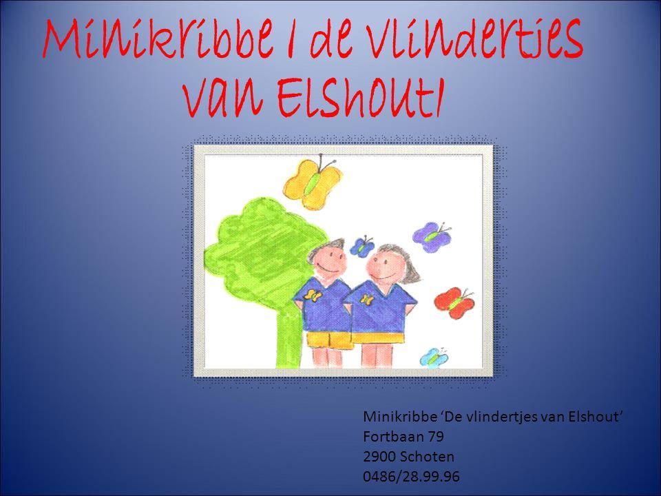 Minikribbe ' de vlindertjes van Elshout' Minikribbe 'De vlindertjes van Elshout' Fortbaan 79 2900 Schoten 0486/28.99.96