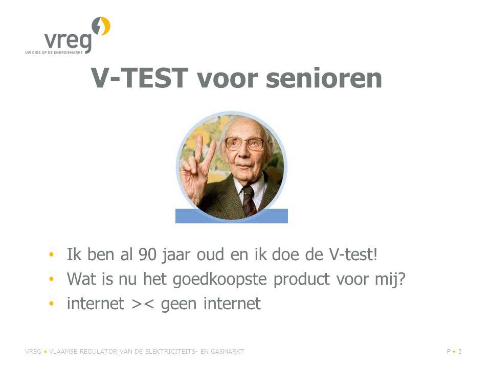V-TEST voor senioren Ik ben al 90 jaar oud en ik doe de V-test.
