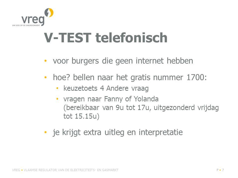 V-TEST telefonisch voor burgers die geen internet hebben hoe.