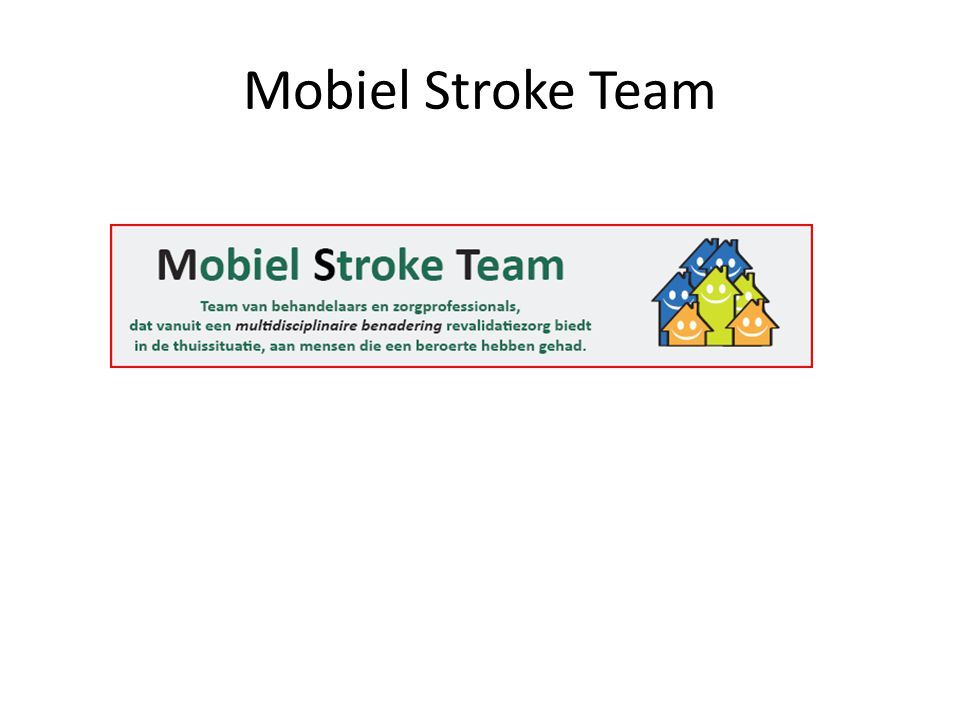 Mobiel Stroke Team