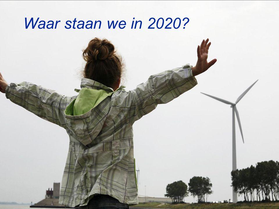 Ministerie van Economische Zaken De doelen komen in zicht.