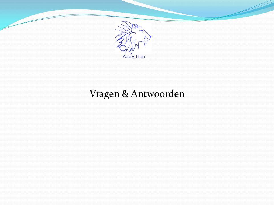 Vragen & Antwoorden Aqua Lion