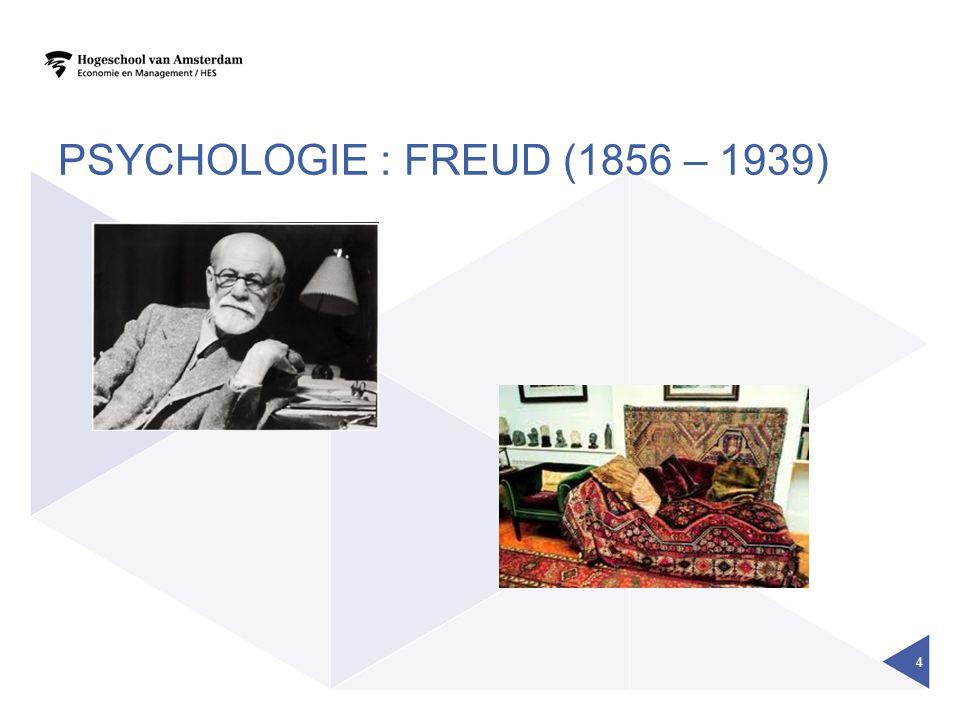 PSYCHOLOGIE : FREUD (1856 – 1939) 4