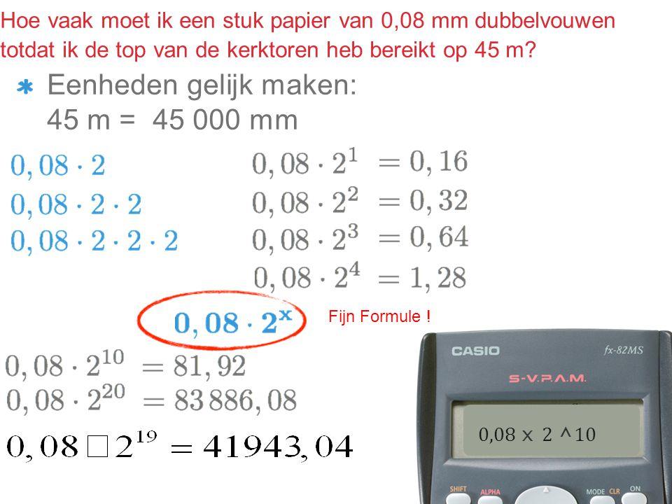 Exponentiële groei N=bg.