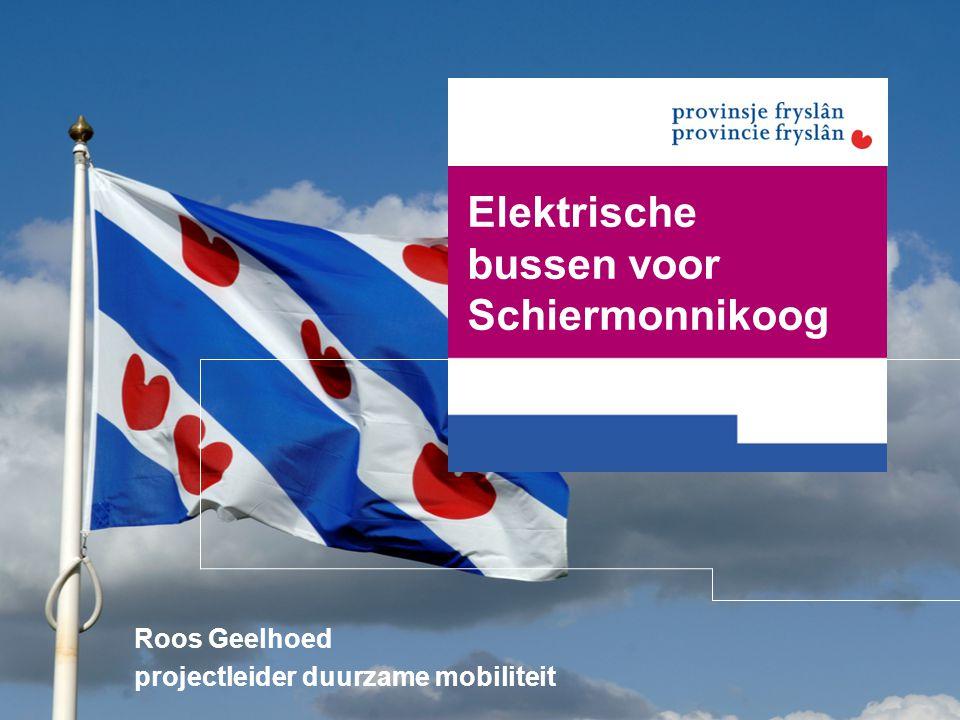 Elektrische bussen voor Schiermonnikoog Roos Geelhoed projectleider duurzame mobiliteit