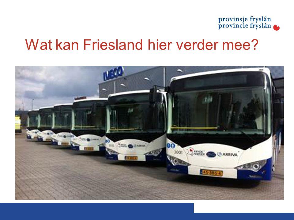 Wat kan Friesland hier verder mee?