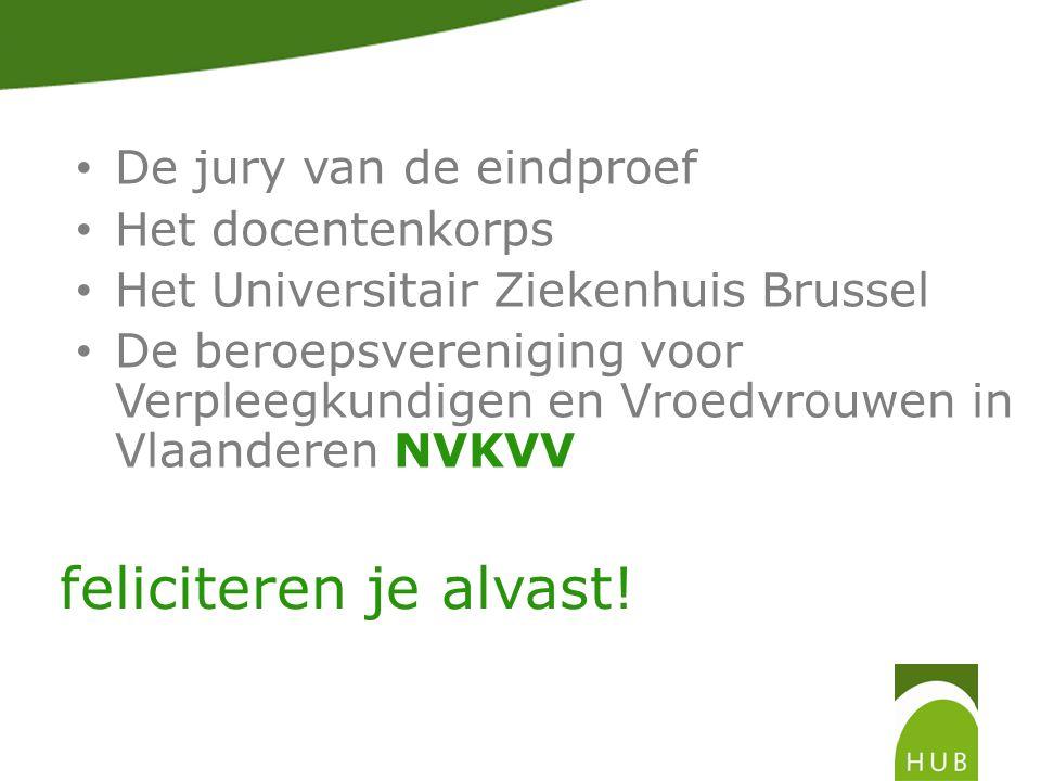 De beroepsvereniging voor Verpleegkundigen en Vroedvrouwen in Vlaanderen NVKVV heeft nog een attentie voor elke afstuderende student verpleegkunde.