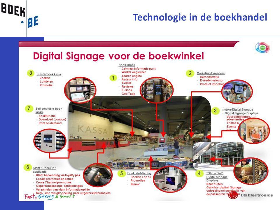 Technologie in de boekhandel