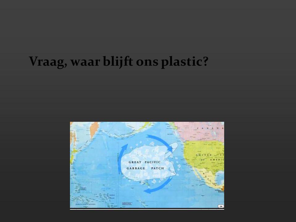 Vraag, waar blijft ons plastic?