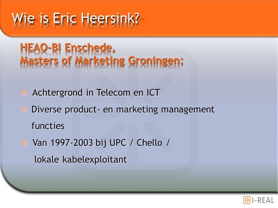 UPC/TELEKABEL PER 1 JULI HOOFDSPONSOR VAN HEERENVEEN (SEPT 1999) Internetprovider Chello is de nieuwe sponsor van het Arrows Formule 1-team (MAART 2000)