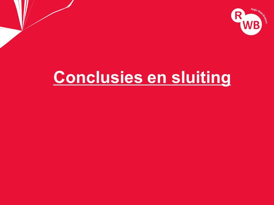 titel Conclusies en sluiting