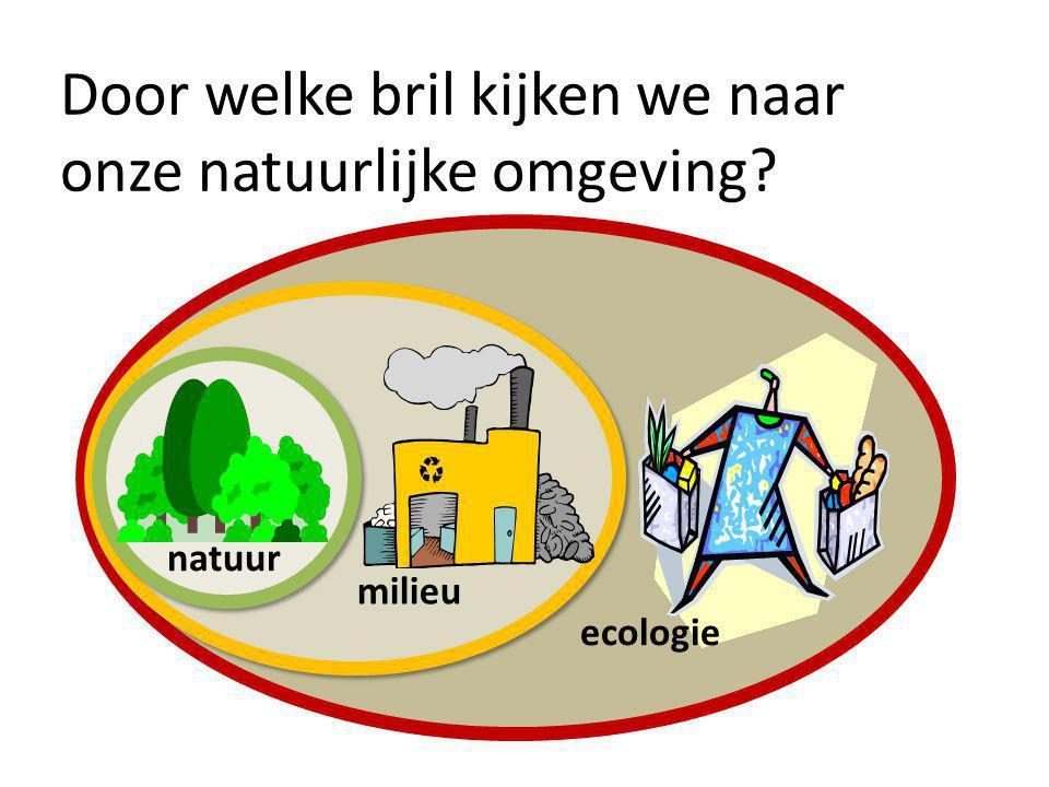 natuur milieu ecologie Door welke bril kijken we naar onze natuurlijke omgeving?