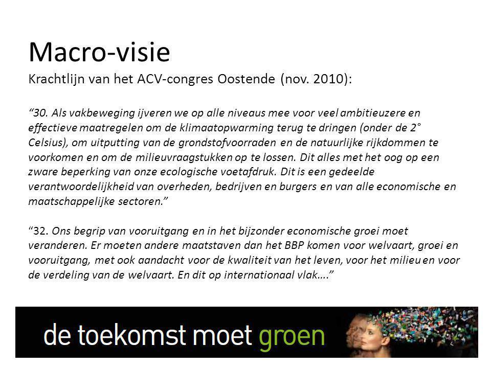 Macro-visie Krachtlijn van het ACV-congres Oostende (nov.