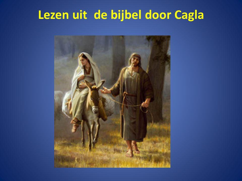 Lezen uit de bijbel door Cagla