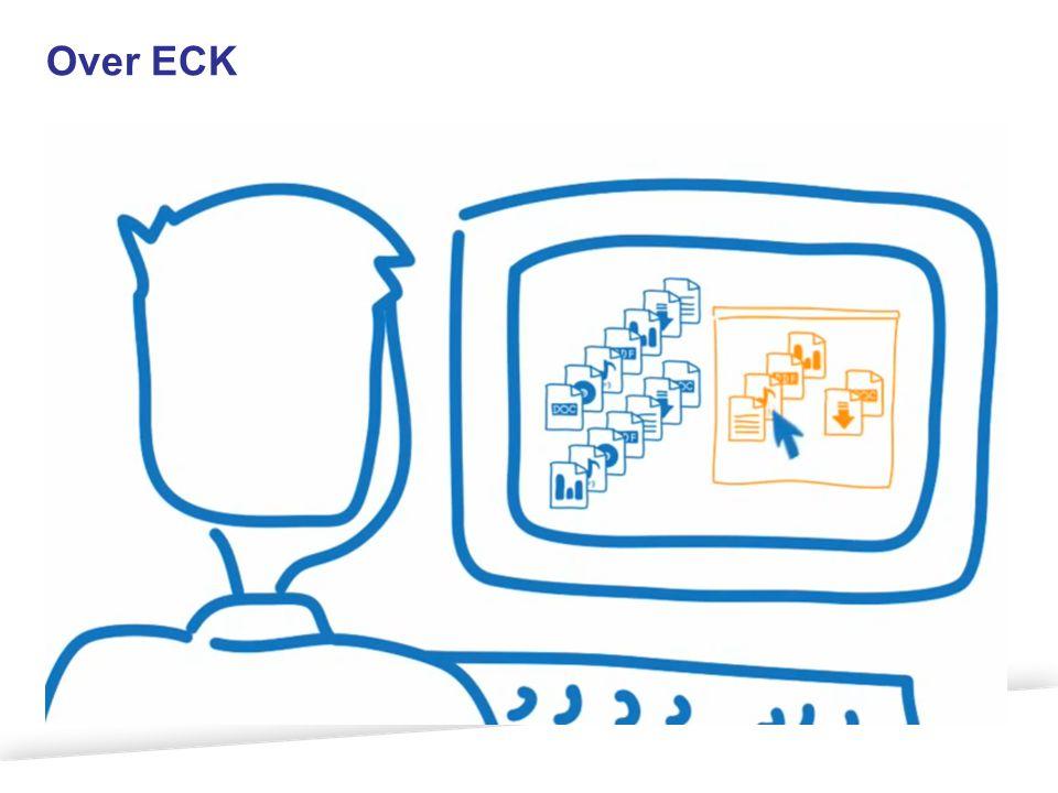 Scope ECK Aanbod leermateriaal Digitaal leermateriaal Gebruik digitale leermiddelen in leersituatie Vindbaar Toegankelijk Transparantie aanbod, vocabulaires Distributie, authenticatie &autorisatie Programma Educatieve contentketen Bruikbaar Uitwisseling Toets- en leerresultaten Uitwisseling Toets- en leerresultaten