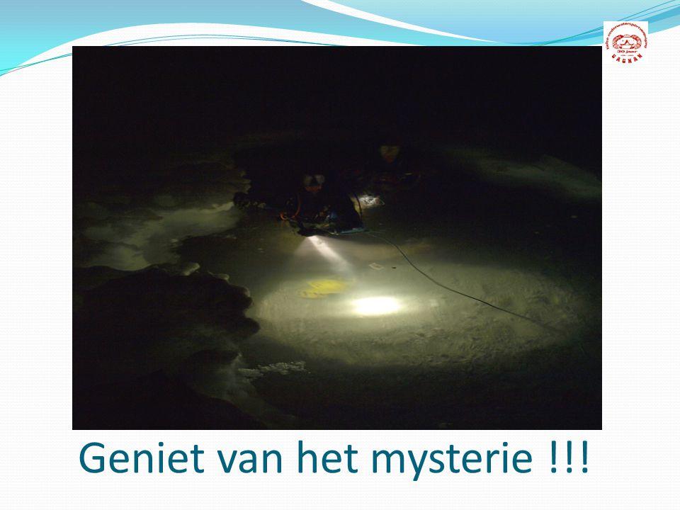 Geniet van het mysterie !!!