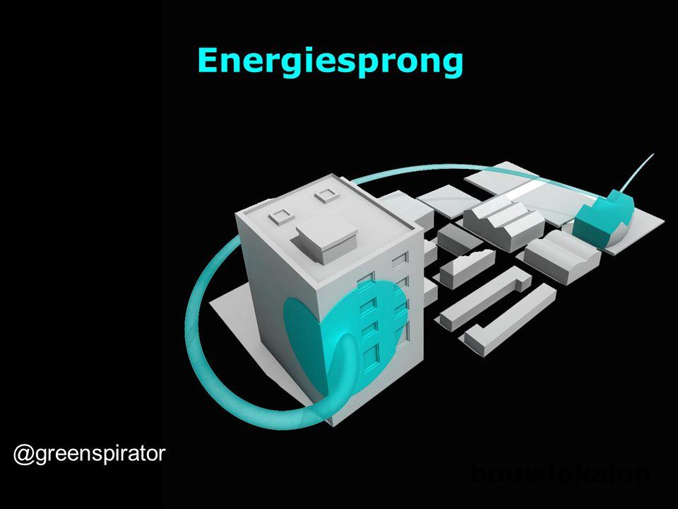 Energiesprong bouwlokalen @greenspirator