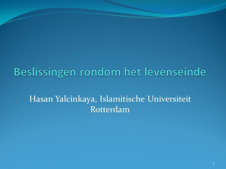 1 Hasan Yalcinkaya, Islamitische Universiteit Rotterdam
