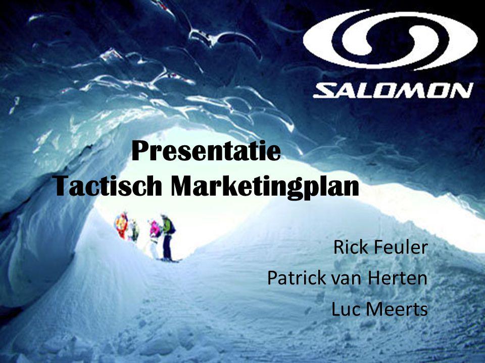 Presentatie Tactisch Marketingplan Rick Feuler Patrick van Herten Luc Meerts
