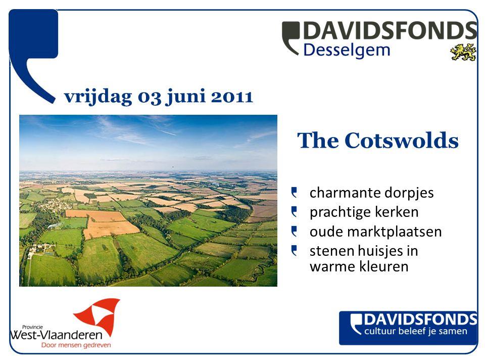vrijdag 03 juni 2011 charmante dorpjes prachtige kerken oude marktplaatsen stenen huisjes in warme kleuren The Cotswolds