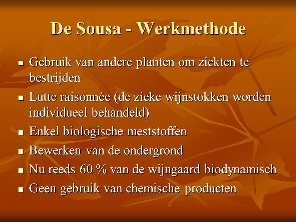 De Sousa - Werkmethode Gebruik van andere planten om ziekten te bestrijden Gebruik van andere planten om ziekten te bestrijden Lutte raisonnée (de zie