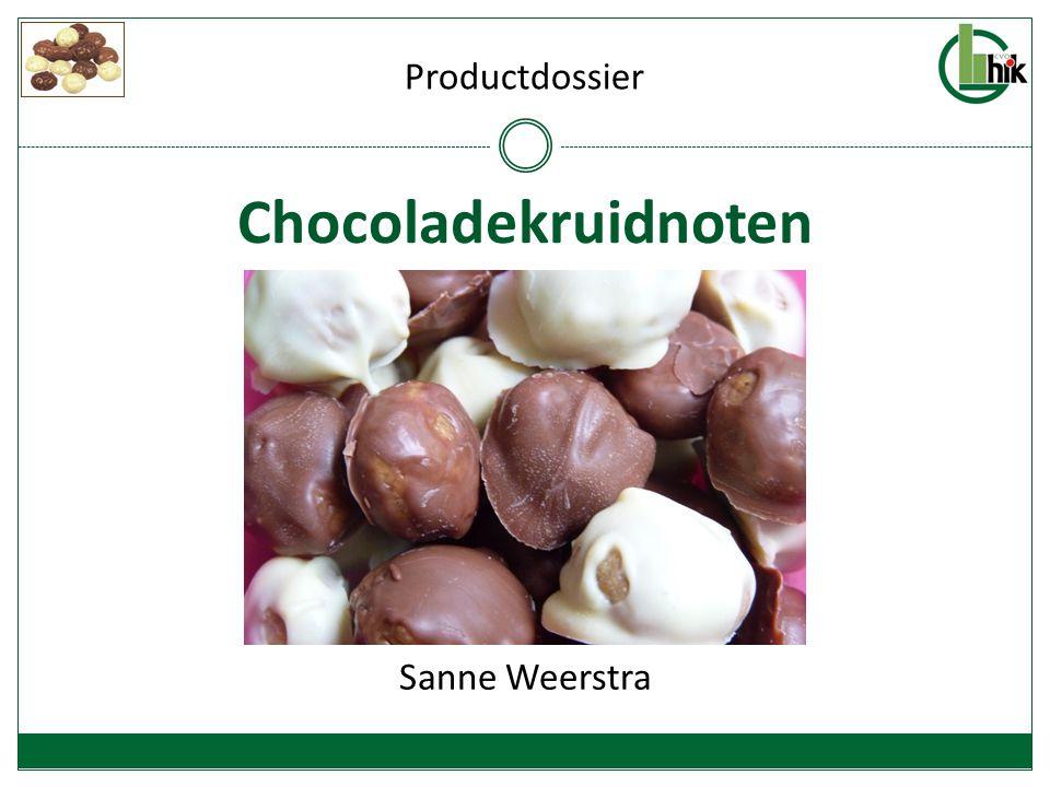 Chocoladekruidnoten Sanne Weerstra Productdossier