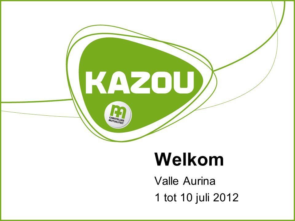 Welkom Valle Aurina 1 tot 10 juli 2012