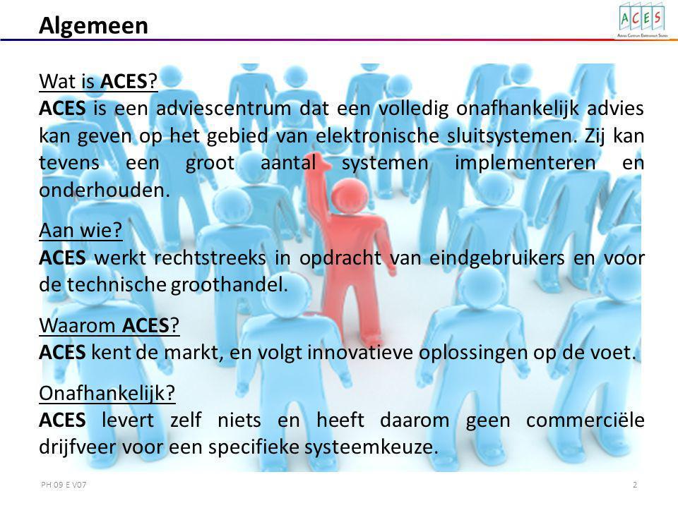 2 Algemeen Wat is ACES.