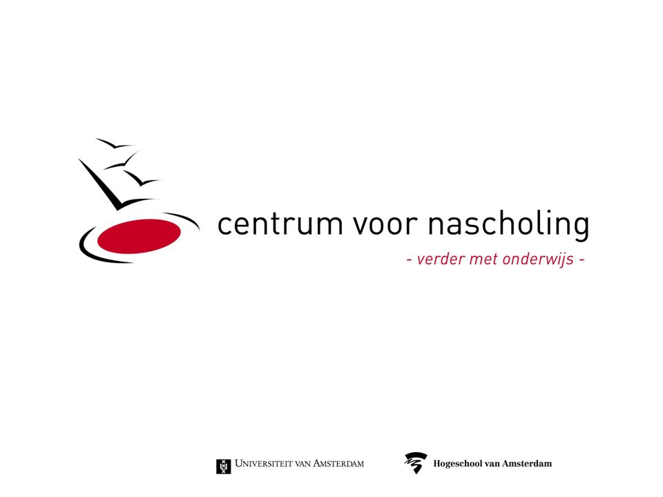 Herontwerp PDG-opleiding Woensdag 4 juni 2014 Bijeenkomst met ROC's en Vakscholen