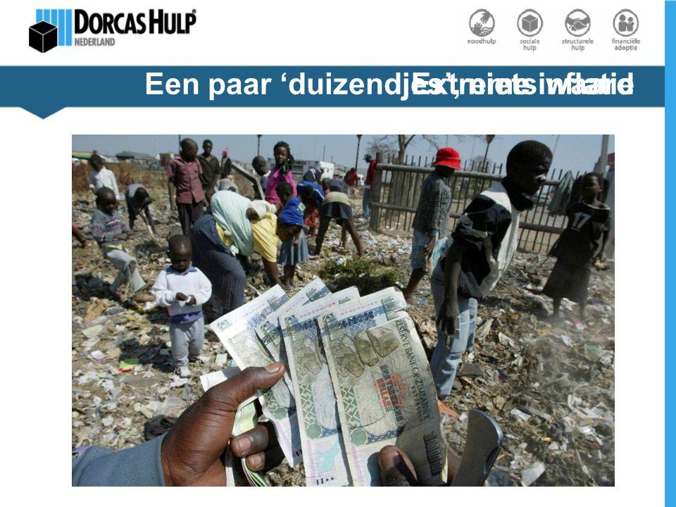 Extreme inflatieEen paar 'duizendjes', niets waard