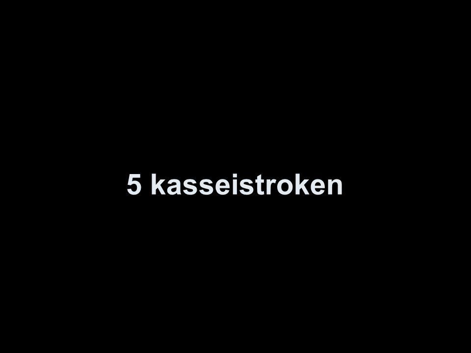 5 kasseistroken