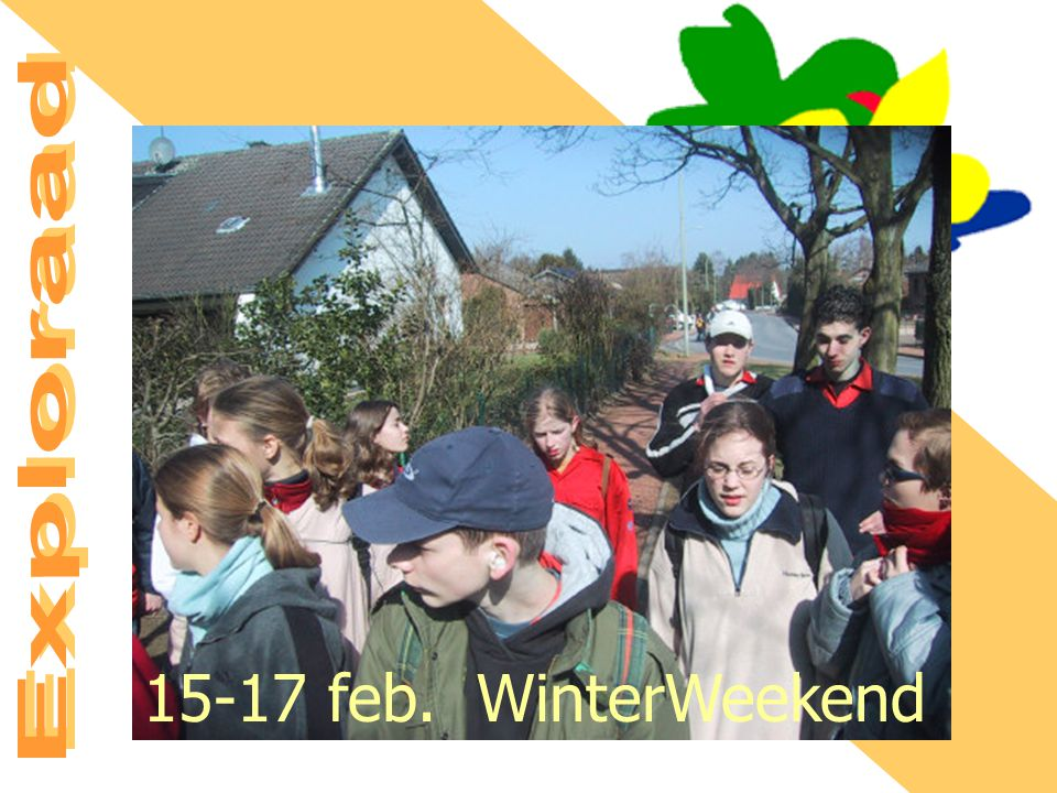 15-17 feb. WinterWeekend