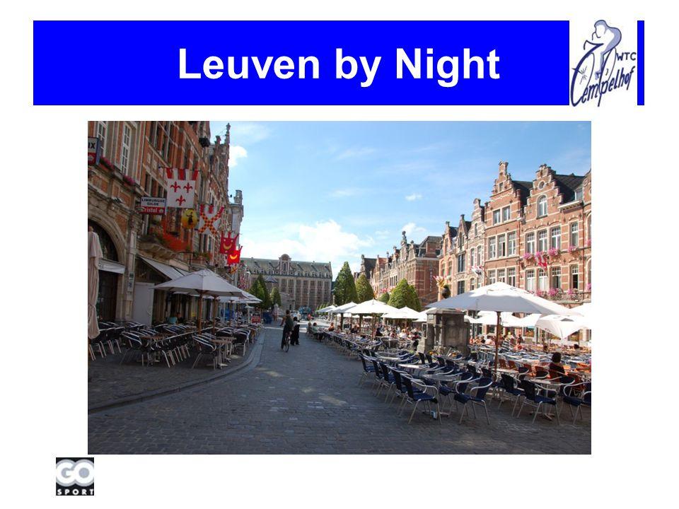 Zondag Rit Rondom Leuven (parcours BK 2010 geïntegreerd) : +/- 70km Douchen Novotel Lunch Novotel … Retour Lierde