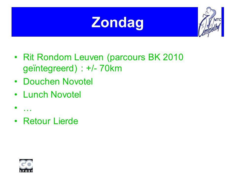Praktisch 110€ + prijs bus Inschrijving voor 28/02/2010 (omwille boeking # kamers) via de site en storting van het voorschot van 50€ op rekeningnummer 035-1296929-80