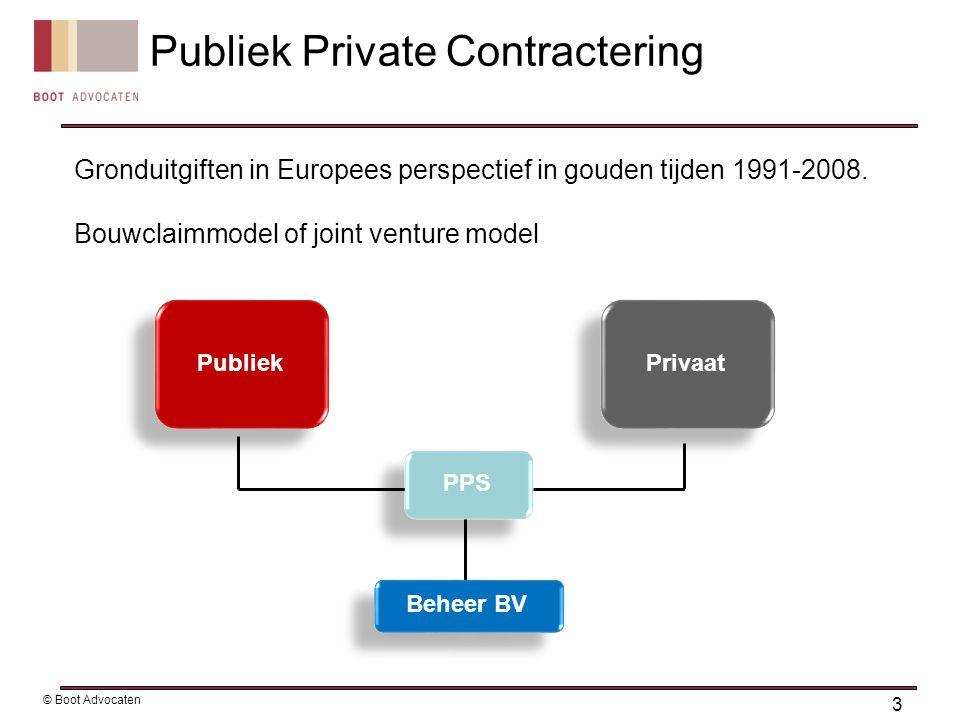 Financiële crisis 2008 Europees recht: aanbestedingsregels en staatssteun 4 © Boot Advocaten De gouden tijden voorbij