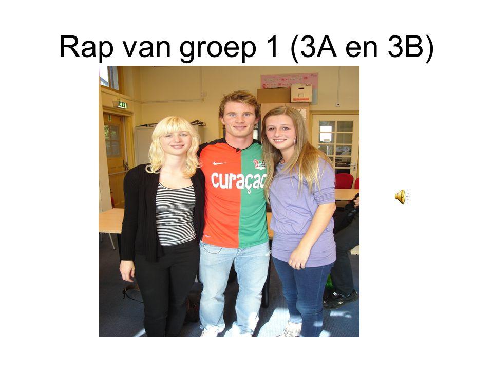 Rap van groep 1 (3A en 3B)