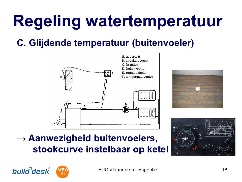 EPC Vlaanderen - Inspectie18 Regeling watertemperatuur C.