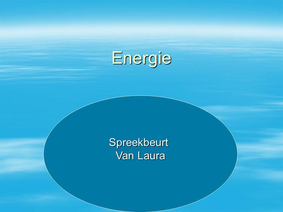 Energie Spreekbeurt Van Laura Spreekbeurt