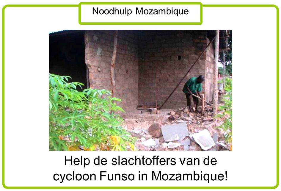 Noodhulp Mozambique De komende 2 weken staan de melkbussen weer klaar.