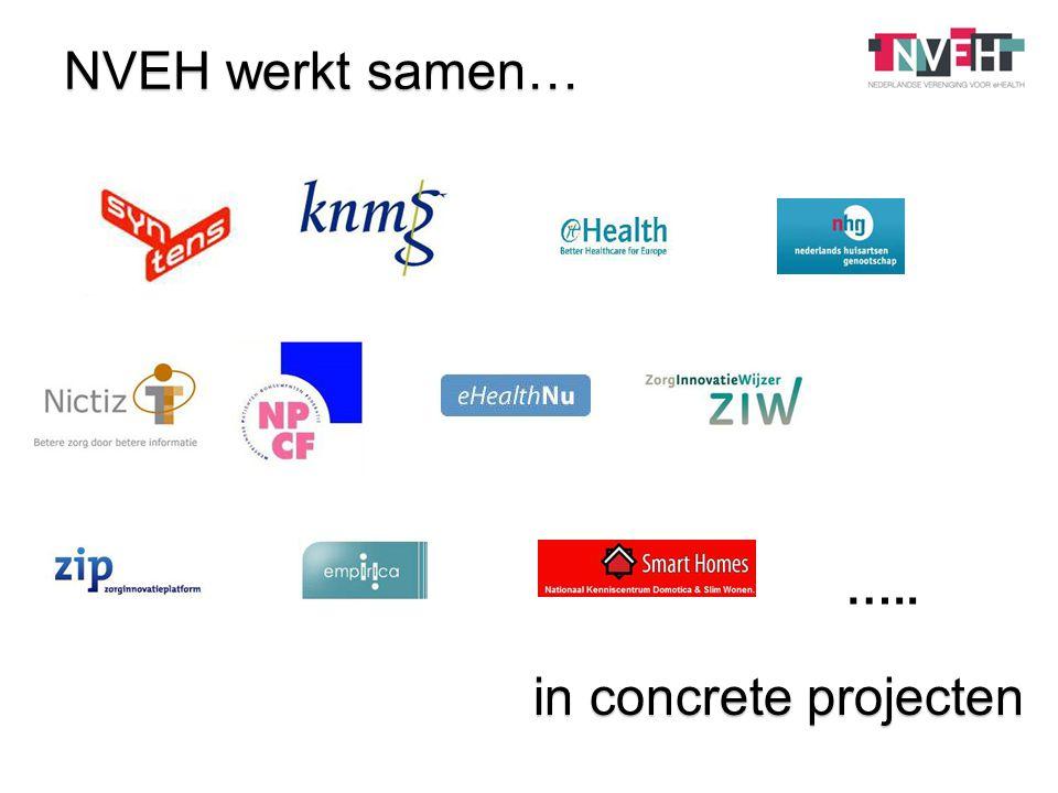 NVEH werkt samen… in concrete projecten …..