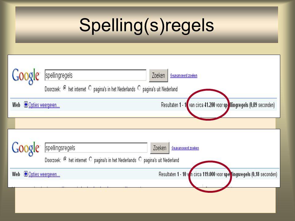 66 Spelling(s)regels