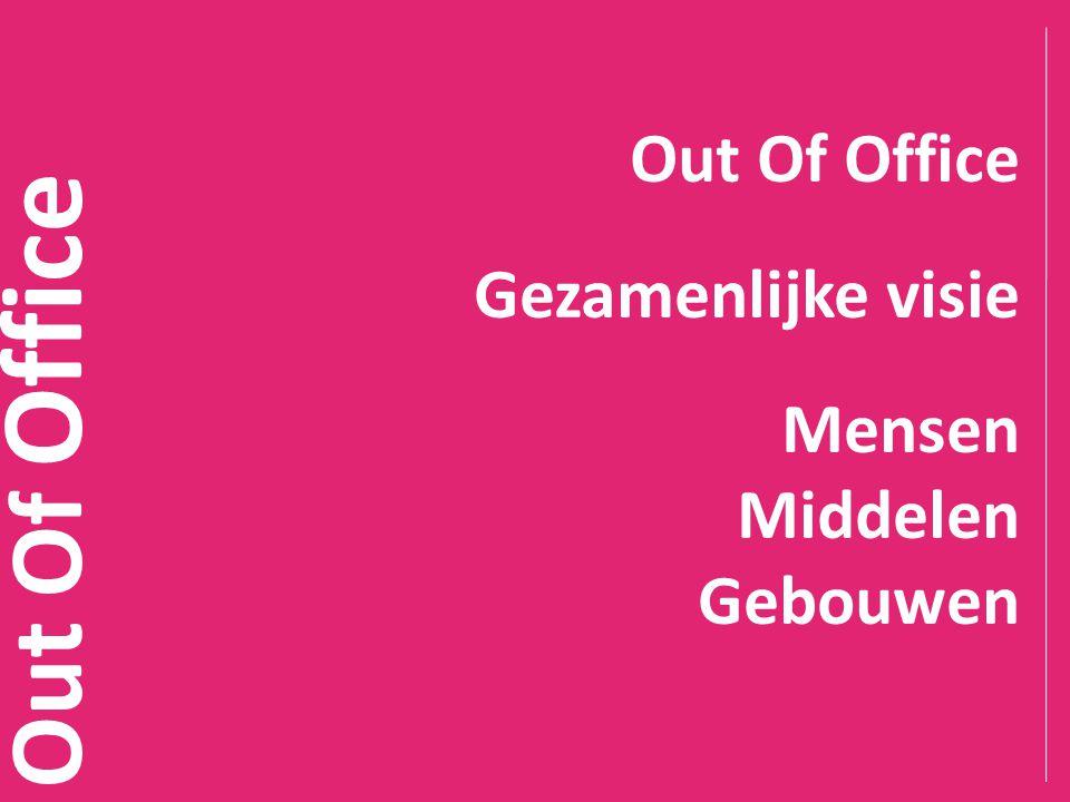 Out Of Office Gezamenlijke visie Mensen Middelen Gebouwen