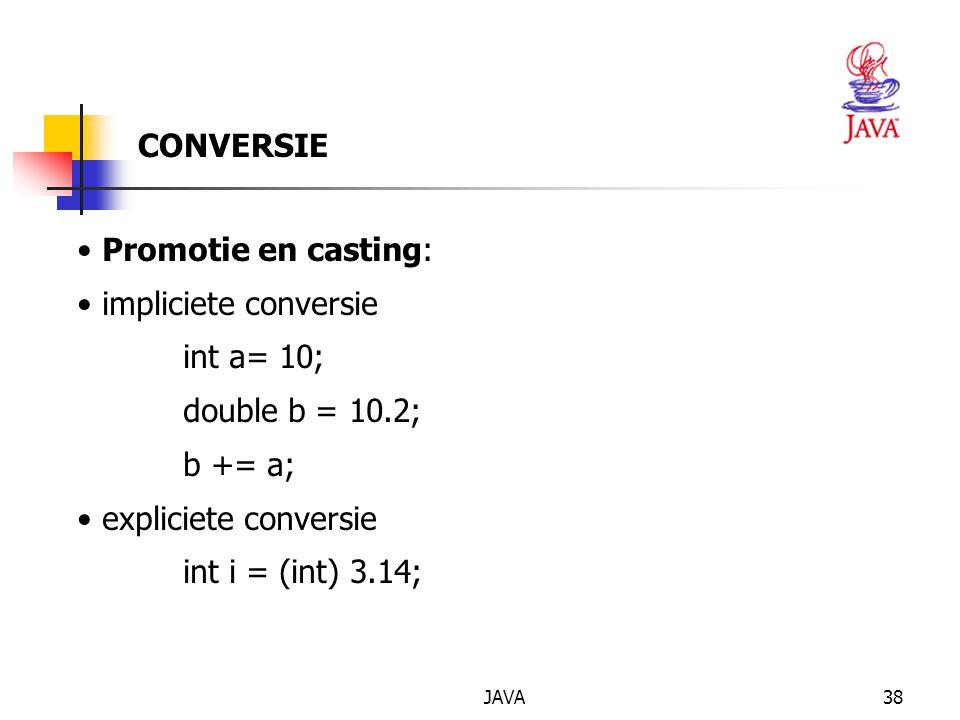 JAVA39 SPECIFICATIE VAN EEN KLASSE (eventueel) public (eventueel) final (eventueel) abstract class (eventueel) extends (eventueel) implements { }