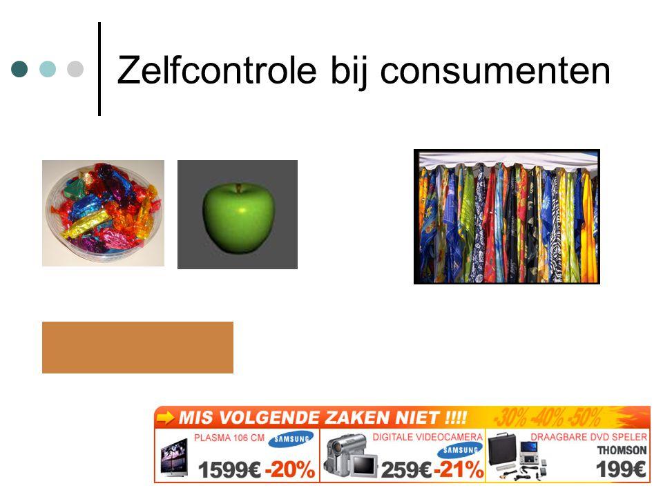 Zelfcontrole bij consumenten