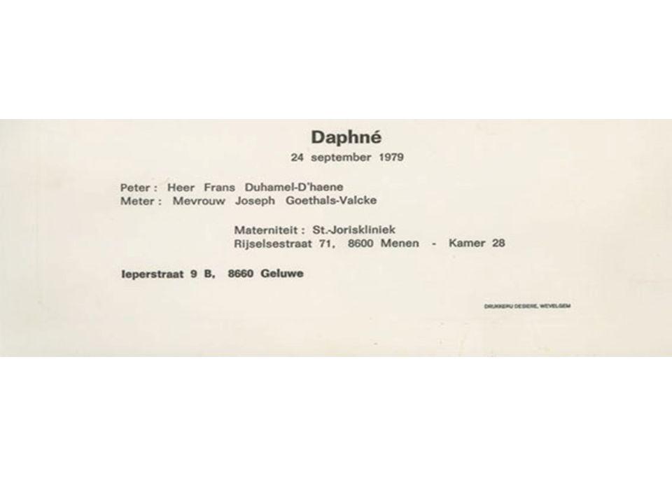 Daphné 18 jaar
