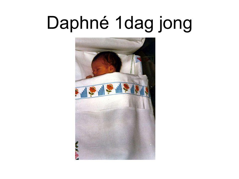 Daphné enkele weken
